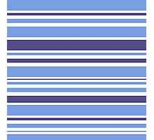 "Natural ""Mare"" stripes Collection. Original Design Art Photographic Print"