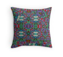 Origami and dragons fly Throw Pillow