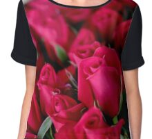 I love the roses from the Farmers Markets Chiffon Top