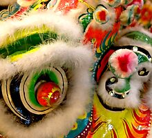 Chinese Dragon in Parade by Marylou Badeaux