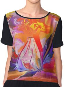 This is our Dance-  Art + Products Design  Chiffon Top