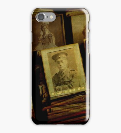 Remember the Fallen iPhone Case/Skin