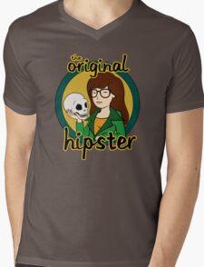 The Original Hipster Mens V-Neck T-Shirt