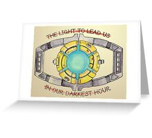 A Light to Lead Us Greeting Card