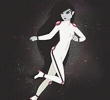 Marceline in Space by Julia Bland