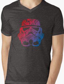 Hippy Retro Trooper Mens V-Neck T-Shirt