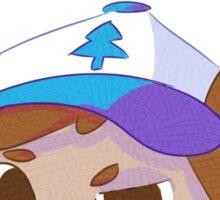Dipper Cat-icature Sticker