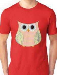 Pastel Owl Unisex T-Shirt