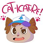 Dipper Cat-icature by Pluph
