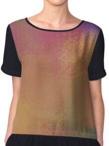 Paint Party Chiffon Top