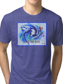 MESSAGE PIECE: Catch the Wave Tri-blend T-Shirt