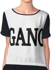 Gang Chiffon Top