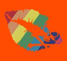 rainbow lips Kids Tee