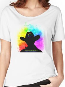 Haught - Rainbow Splash Women's Relaxed Fit T-Shirt
