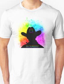Haught - Rainbow Splash Unisex T-Shirt