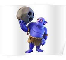 Bowler Clash of Clans Poster
