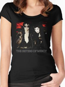 This Corrosion - The Sisters of Mercy - The world's End Women's Fitted Scoop T-Shirt