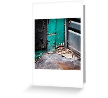 { Corners: where the walls meet #01 } Greeting Card