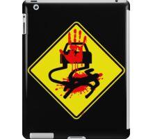 Destruction Zone Ahead iPad Case/Skin