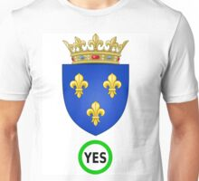 Say Yes, to Restore the French Monarchy Unisex T-Shirt