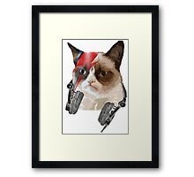Cat Bowie Framed Print
