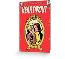 Heart Out by The 1975 Comic Greeting Card