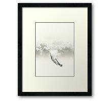 Sky diver Framed Print