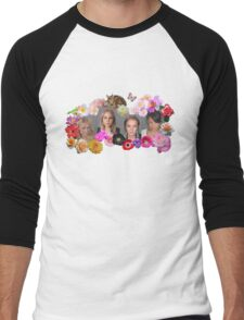 Princesses mugshots Men's Baseball ¾ T-Shirt