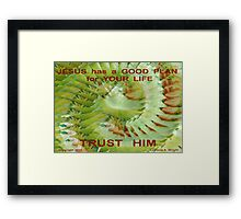 SEASON OF RECOVERY Framed Print