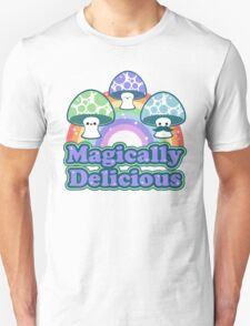 Delicious Mushrooms Unisex T-Shirt