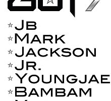 GOT7 by kpoplace