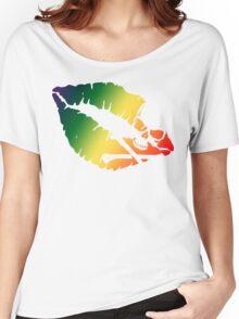 rainbow kiss Women's Relaxed Fit T-Shirt