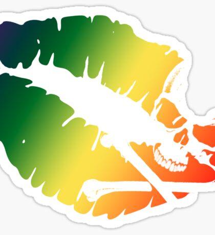 rainbow kiss Sticker