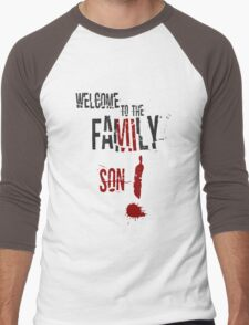 Welcome to the Family Son Men's Baseball ¾ T-Shirt