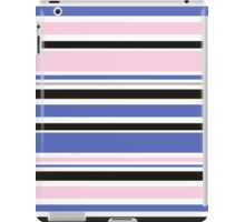 "Retro ""stripes"" dreamy summer 2016 collection: blue, pink, black iPad Case/Skin"