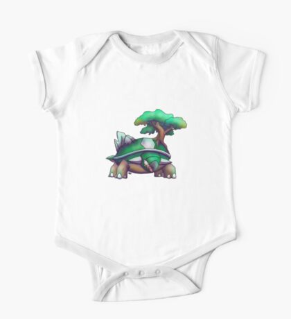 Earth Turtle One Piece - Short Sleeve