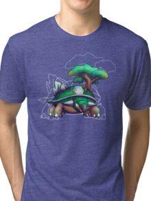 Earth Turtle Tri-blend T-Shirt