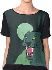 Puma, dark green - Gravity Falls Chiffon Top
