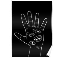 Behelit Hand - Black Poster