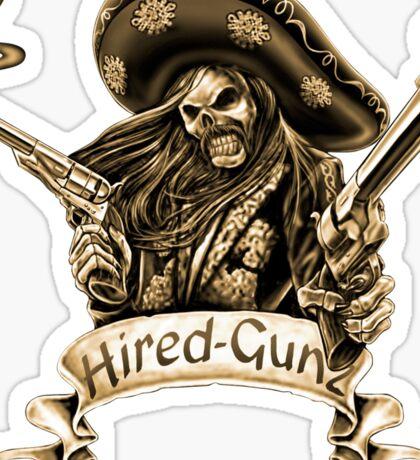 Hired-Gunz Sticker
