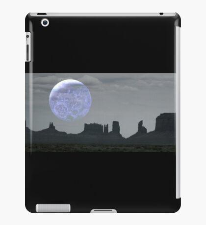Alien Moon Over Monument Valley iPad Case/Skin
