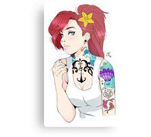 Rebel Ariel  Metal Print