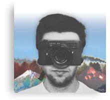 Camera Man Canvas Print