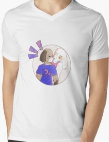 Game Grumps Commission Mens V-Neck T-Shirt