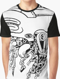 Robot Creature Graphic T-Shirt