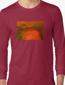 Color in Oil and WAter Long Sleeve T-Shirt