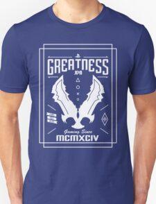 Greatness (white version) Unisex T-Shirt
