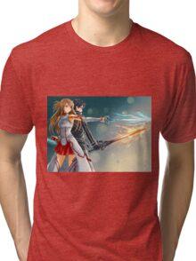 kirito et asuna Tri-blend T-Shirt
