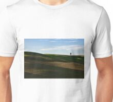Lone tree over hills Unisex T-Shirt