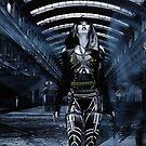 DWR Futuristic Cyborg and Retro Robots by Galen Valle